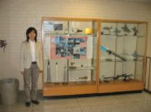 2006/05 Purdue Univ.でのひとこま