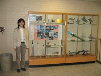 新妻実保子 2006/05 Purdue Univ.でのひとこま